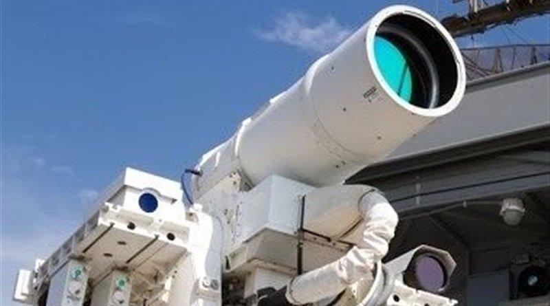 Iranian air defense laser cannons. Photo Credit: Tasnim News Agency