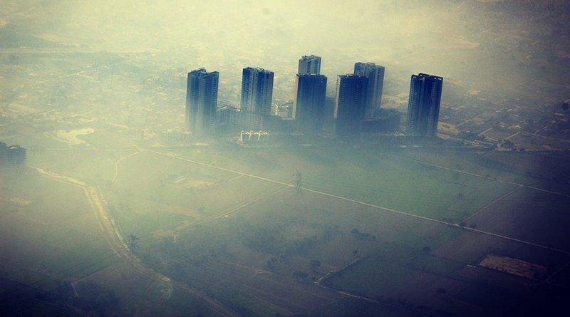 Pollution in Delhi, India