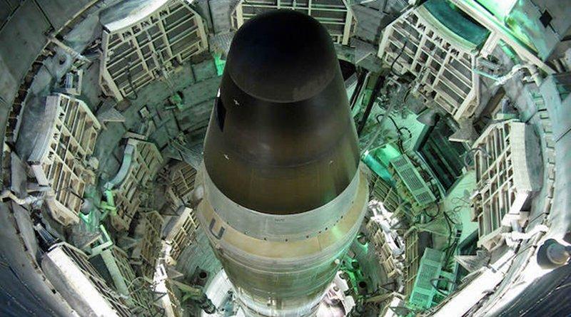 Former Titan II Missile in its silo, Sahuarita, Arizona. Source: The Titan Missile Museum.