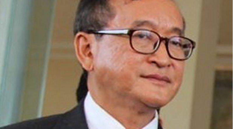 Cambodia's Sam Rainsy. Photo Credit: VOA, Wikipedia Commons