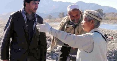 Japanese doctor Tetsu Nakamura in Afghanistan. Photo Credit: Peshawar-kai