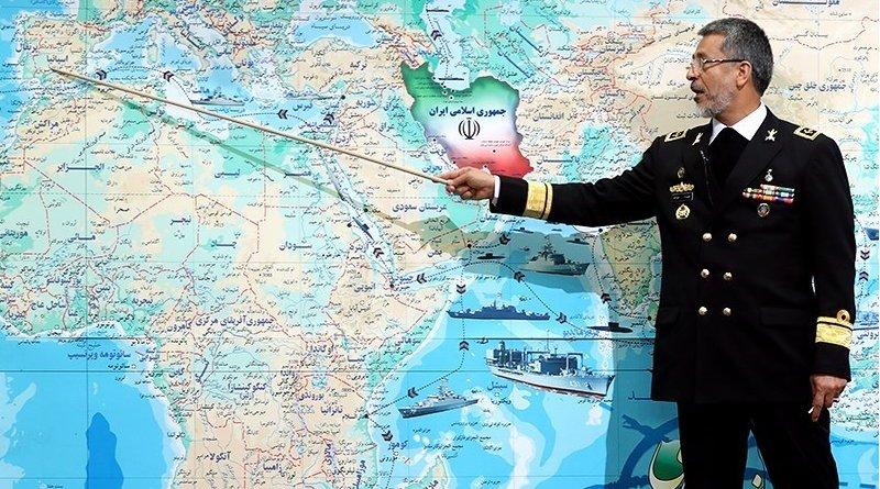 Deputy Chief of Iran's Army for Coordination Rear Admiral Habibollah Sayyari. Photo Credit: Tasnim News Agency