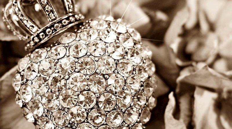 fake diamond jewelry