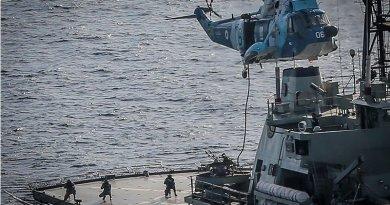 Iran, Russia, China navies hold joint drill. Photo Credit: Tasnim News Agency