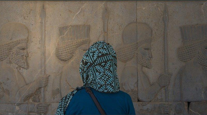 iran persepolis woman persia