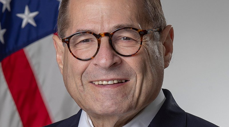 Official Portrait of U.S. Representative & Judiciary Committee Chair Jerry Nadler (D-NY). Credit: U.S. House Office of Photography, Wikipedia Commons