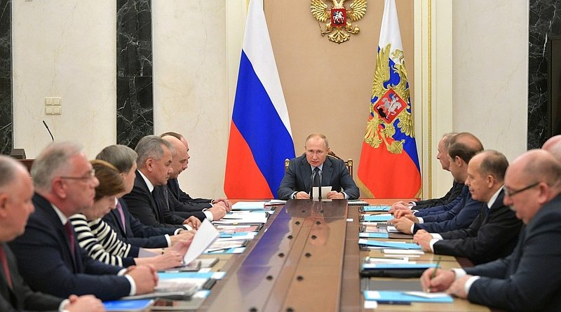 Russia President Vladimir Putin chairs Commission for Military Technical Cooperation with Foreign States. Photo Credit: Kremlin.ru