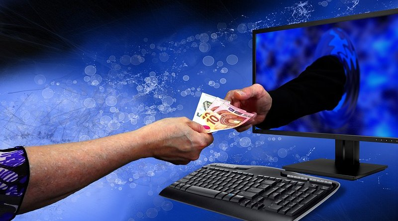 online computer banking currency