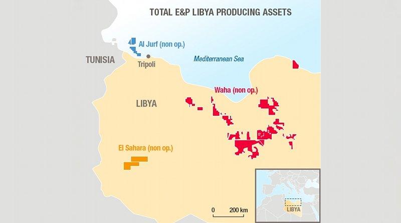 Total in Libya. Credit: Total