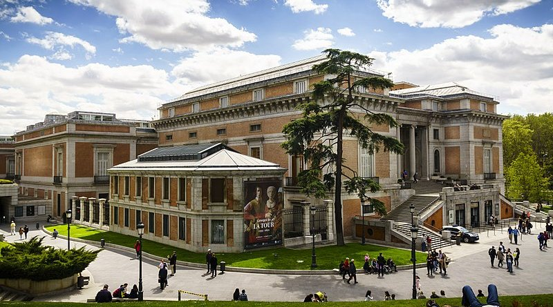 Exterior of the Prado Museum in Madrid, Spain. Photo Credit: Wikipedia Commons