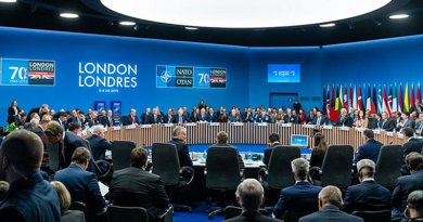 NATO leaders' meeting marking the 70th anniversary of the Alliance in London. Photo Credit: NATO