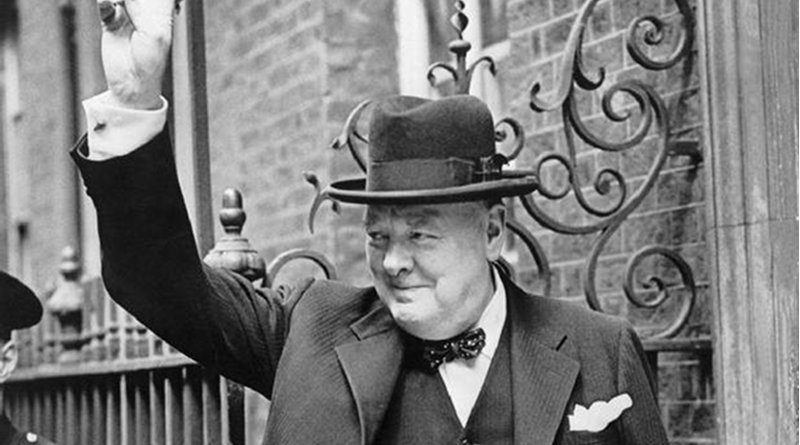 British Prime Minister Winston Churchill in 1943. Photo Credit: British Government, Wikipedia Commons