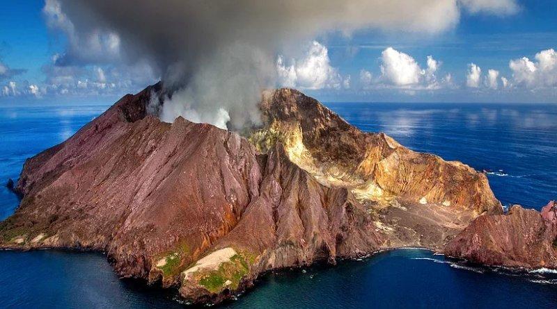 New Zealand's White Island (Whakaari) volcano