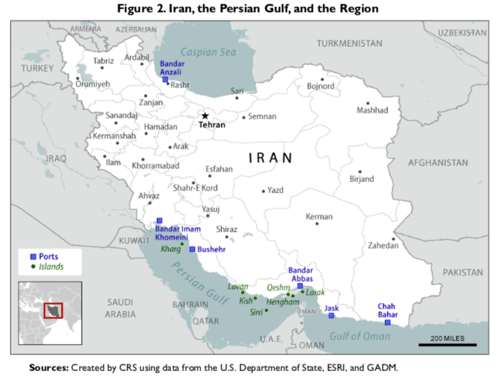 Iran, the Persian Gulf, and the Region