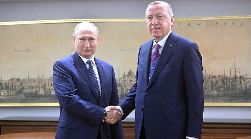 Russia's President Vladimir Putin with Turkish President Recep Tayyip Erdogan in Istanbul. Photo Credit: Kremlin.ru