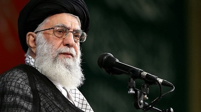 Iran's Ayatollah Seyed Ali Khamenei. Photo Credit: Tasnim News Agency