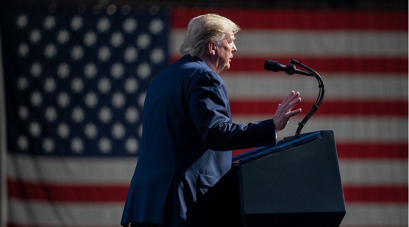 File photo of US President Donald Trump. Photo Credit: Official White House Photo by Shealah Craighead