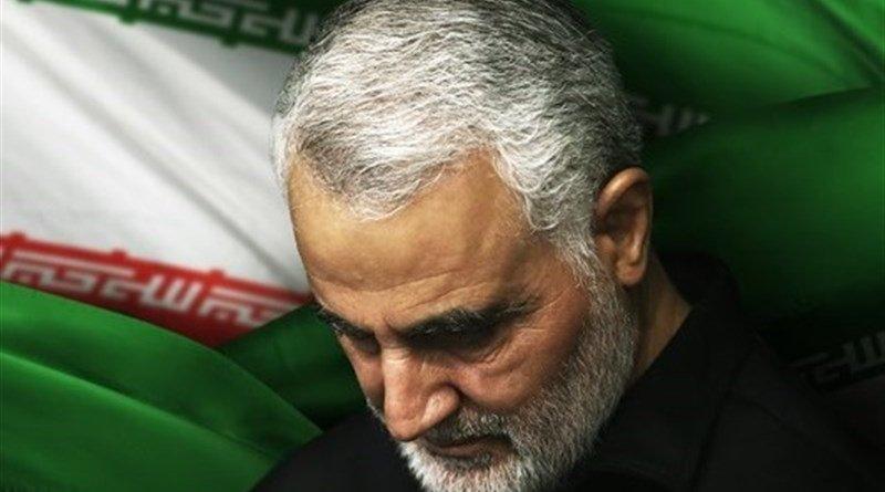 Iran's Qassem Soleimani. Photo Credit: Tasnim News Agency