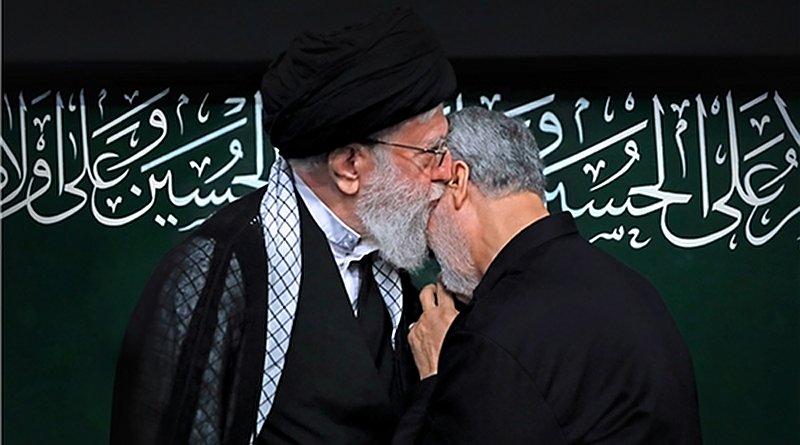Iran's Ayatollah Seyed Ali Khamenei and Commander of Iran's Islamic Revolution Guards Corps (IRGC) Qods Force Major General Qassem Soleimani. Photo Credit: Fars News Agency
