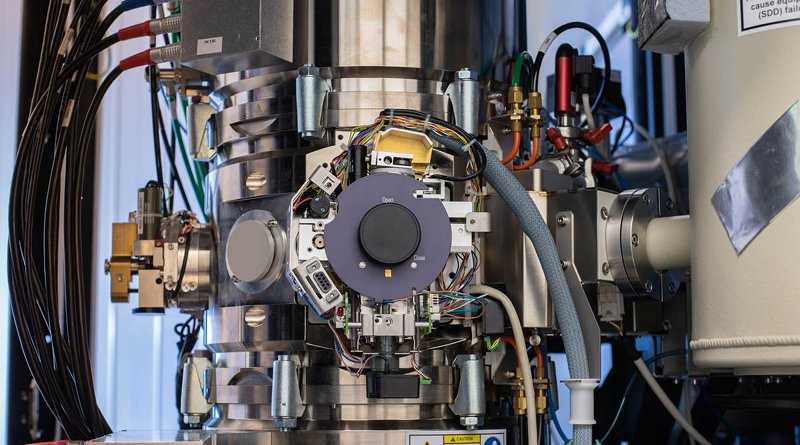 An important part of the work has been conducted on one of the world´s most outstanding transmission electron microscopes, Arwen, at Linköping University.Photo credit Magnus Johansson