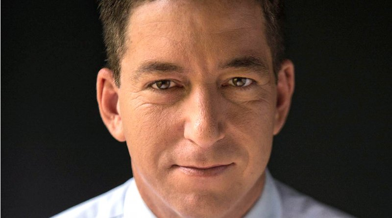 Glenn Greenwald. Photo Credit: David dos Dantos, Wikipedia Commons