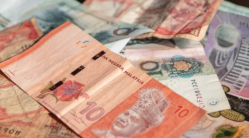 Ringgit malaysia banknote currency money