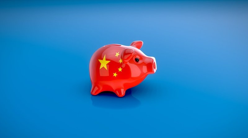 china business economy piggy bank