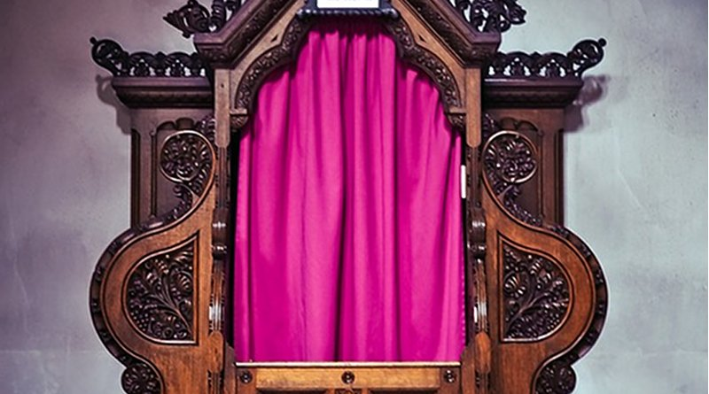 confession confessional sacrament catholic church