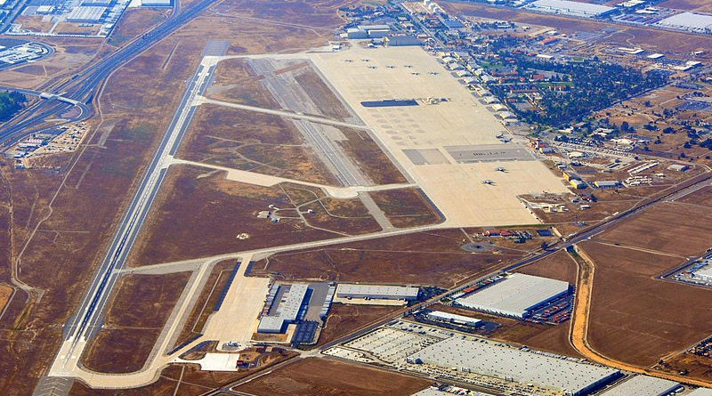 March Air Force Base. Photo Credit: D Ramey Logan, Wikipedia Commons