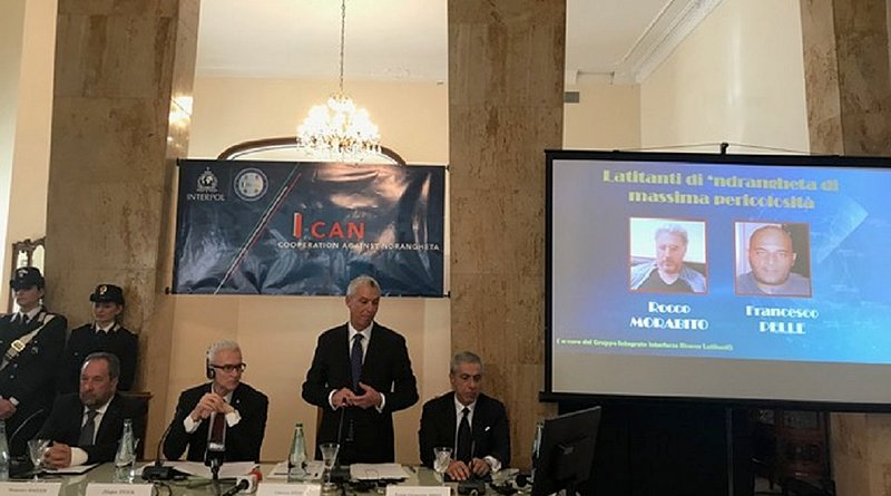 Prefect Vittorio Rizzi, Deputy Director General of Public Security and Central Director of the Italian Criminal Police at the launch of the I-CAN project in Reggio Calabria. Photo Credit: INTERPOL