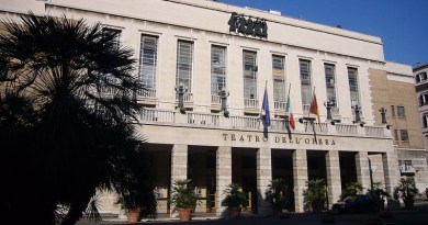 Facade of the Teatro dell'Opera in Rome, Italy. Photo Credit: Lalupa, Wikipedia Commons