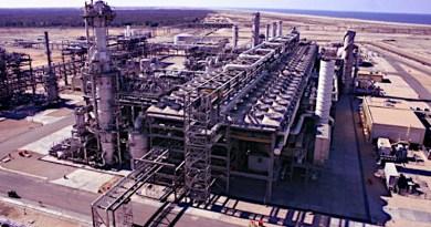 Damietta LNG plant in Egypt. Image courtesy of Union Fenosa Gas