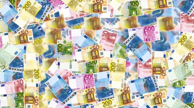 currency Bills Money Euro Wealth Rich