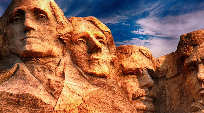 president united states Mount Rushmore Sculpture Monument Landmark National