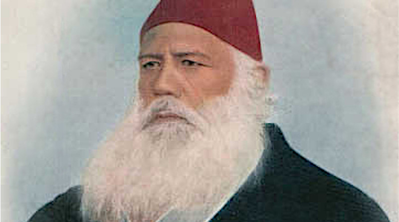 Sir Syed Ahmed Khan. Source: Wikimedia Commons