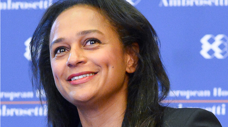 Isabel dos Santos. Photo Credit: Nuno Coimbra, Wikipedia Commons