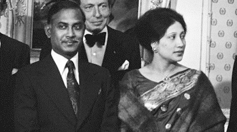 Bangladesh's Begum Khaleda Zia with husband Ziaur Rahman in 1979. Photo Credit: Suyk, Koen / Anefo, Wikipedia Commons