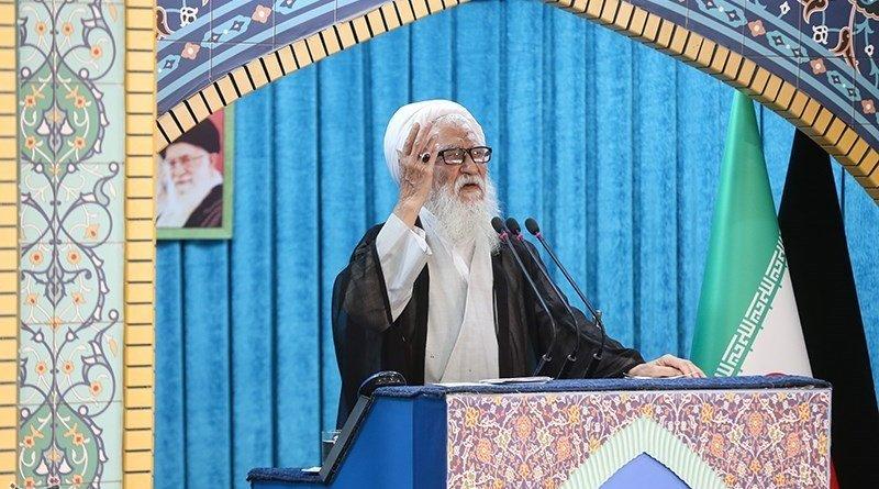 Iran's Ayatollah Mohammad Ali Movahedi Kermani. Photo Credit: Tasnim News Agency