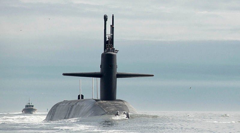 USS Tennessee submarine. Photo Credit: U.S. Navy/Mass Communication Specialist 1st Class James Kimber