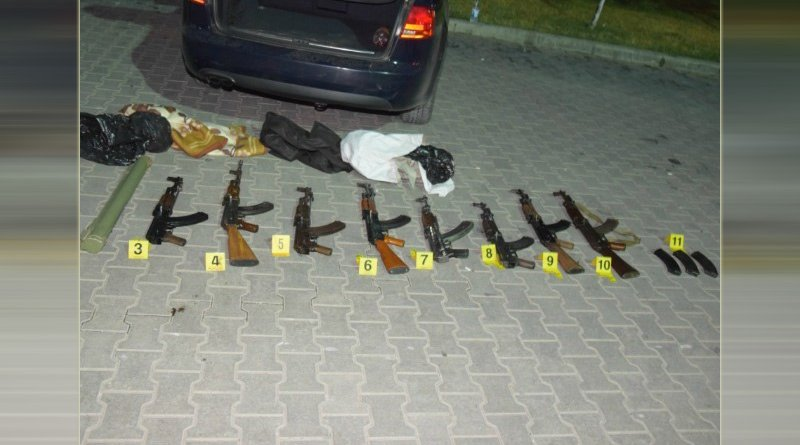 Seized arms. Photo: U.S. Attorney's Office for the Eastern District of New York.
