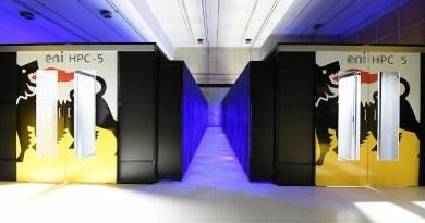 Eni's new super computer HPC5. Photo Credit: Eni