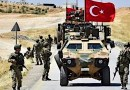 Troops from Turkey's military patrol Syria. Photo Credit: Tasnim News Agency