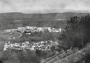 Anonymous photo of the city of Sefrou in 1920
