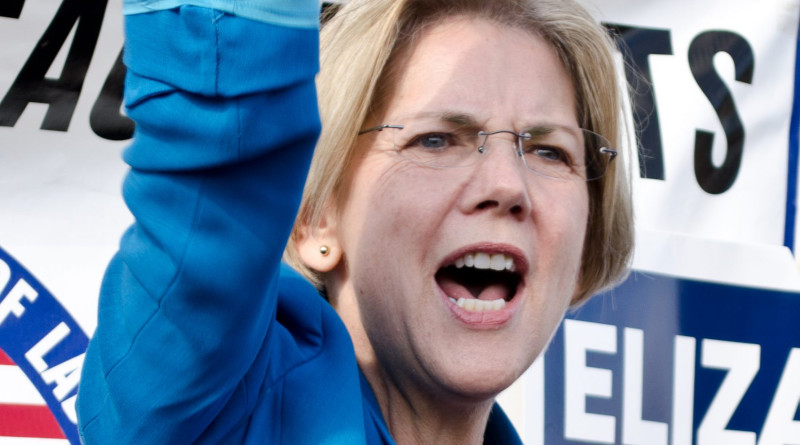 Elizabeth Warren. Photo Credit: Tim Pierce, Wikipedia Commons