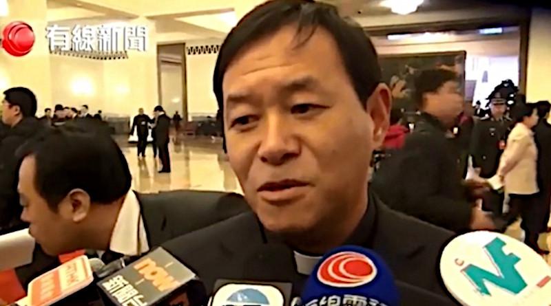 China's Bishop Peter Fang Jianping of Tangshan. (Photo: YouTube)