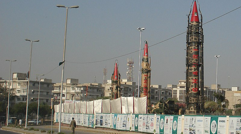 Pakistani missile research and development program. Photo Credit: SyedNaqvi90, Wikipedia Commons