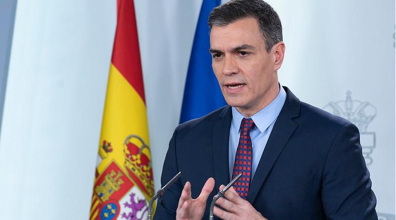 Spain's Prime Minister Pedro Sánchez. Photo Credit: La Moncloa