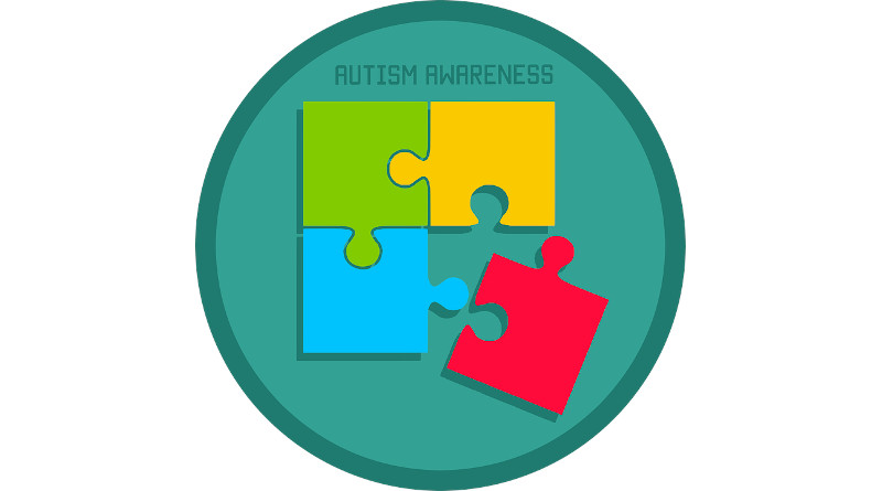 Autism Awareness Puzzle Icon Day World April