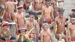 Papua New Guinea Tribal Natives Tradition Culture People Dress