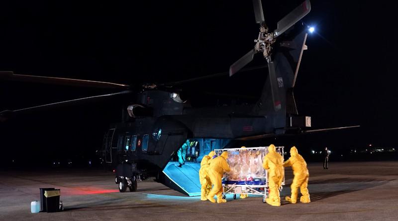 Italy fighting coronavirus. Photo Credit: Aeronautica Militare